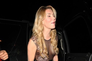 Brandi Glanville Celebrities Dine Out at Craig's Restaurant