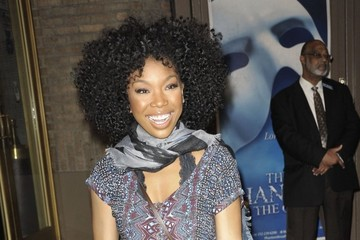 Brandy Stars Head out and About in NYC