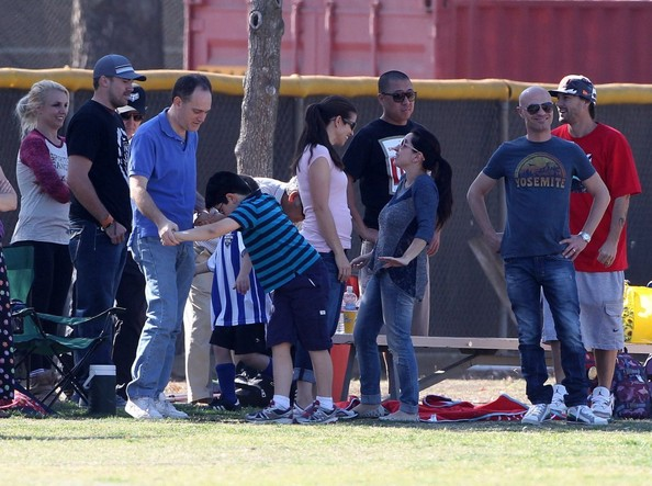Britney Spears & Kevin Federline Watch Their Sons Play Soccer []
