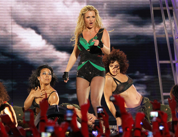 Britney Spears Performing On