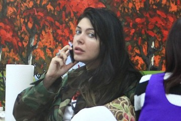 Brittny Gastineau Brittny Gastineau Gets Her Nails Done In Beverly Hills