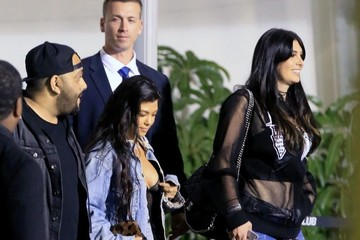 Brittny Gastineau Celebrities Leaving The Kanye West Concert At The Forum