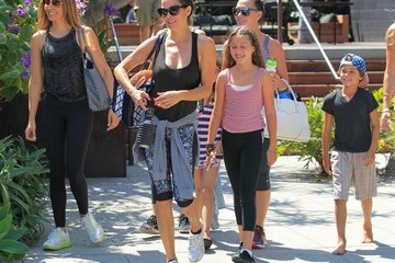 Brooke Burke Shaya Charvet Brooke Burke and Her Kids Go Out and About in Malibu