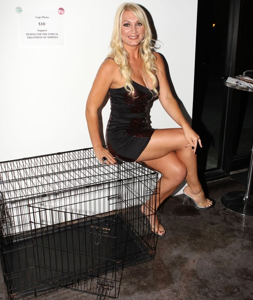 Brooke+Hogan in Stars at Hulk Hogan's 58th Birthday