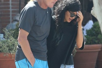 Bruce Jenner Bruce & Kylie Jenner Out For Lunch In Malibu