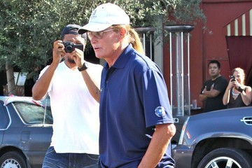Bruce Jenner Kim Kardashian and Bruce Jenner Film on Melrose