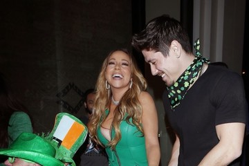 Bryan Tanaka Mariah Carey and Bryan Tanaka Celebrate St. Patricks Day at Catch