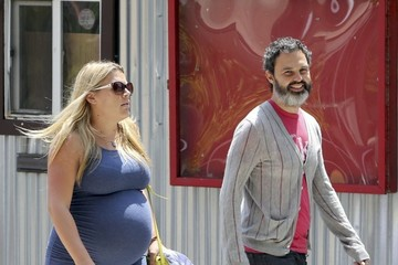 Busy Philipps Marc Silverstein Busy Phillips Grabs Lunch with Friends