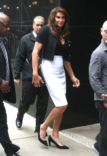 'good Caitlyn Photos Celebrities Visit Morning Jenner VqpSUzGM