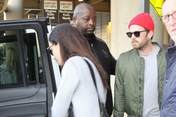 Caleb Followill Lily Aldridge & Caleb Followill Land In Washington DC