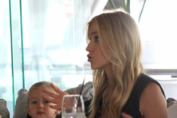 Camden Cutler Kristin Cavallari & Son Camden Out For Lunch At Villa Blanca
