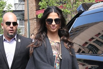 Camila Alves Caila Alves and Her Son Go Out and About in New York