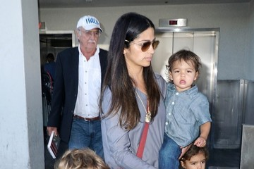 Camila Alves Levi Mcconaughey Camila Alves Touches Down at LAX