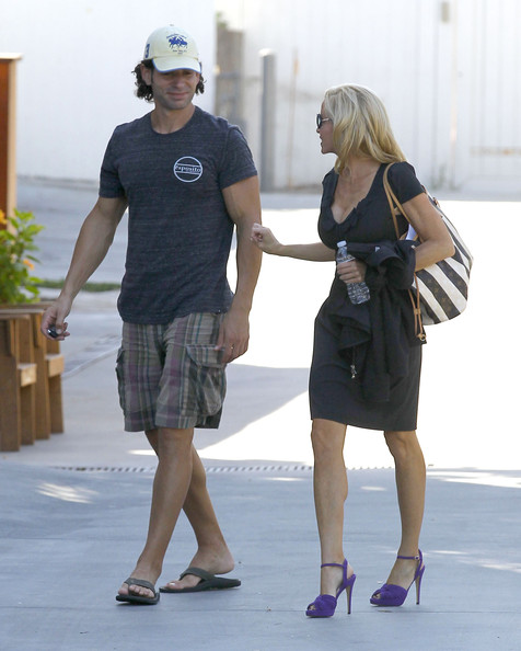 Camille Grammer And Boyfriend Dimitri Heading To A Friends