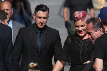 Carey Hart Celebrities Making An Appearance On 'Jimmy Kimmel Live!'