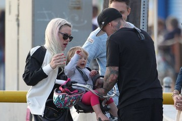 Carey Hart Pink Takes Her Family to Venice Beach — Part 2