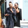 Carmen Milian Christina Milian Heads Out for Lunch With Her Family