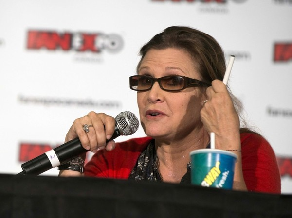 File: Carrie Fisher Passes Away at the Age of 60 []