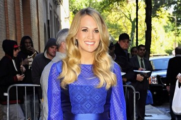 Carrie Underwood Celebs Stop by 'The View'