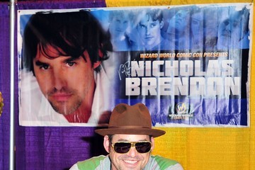 Nicholas Brendon Celebrities At The Anaheim Comic Con