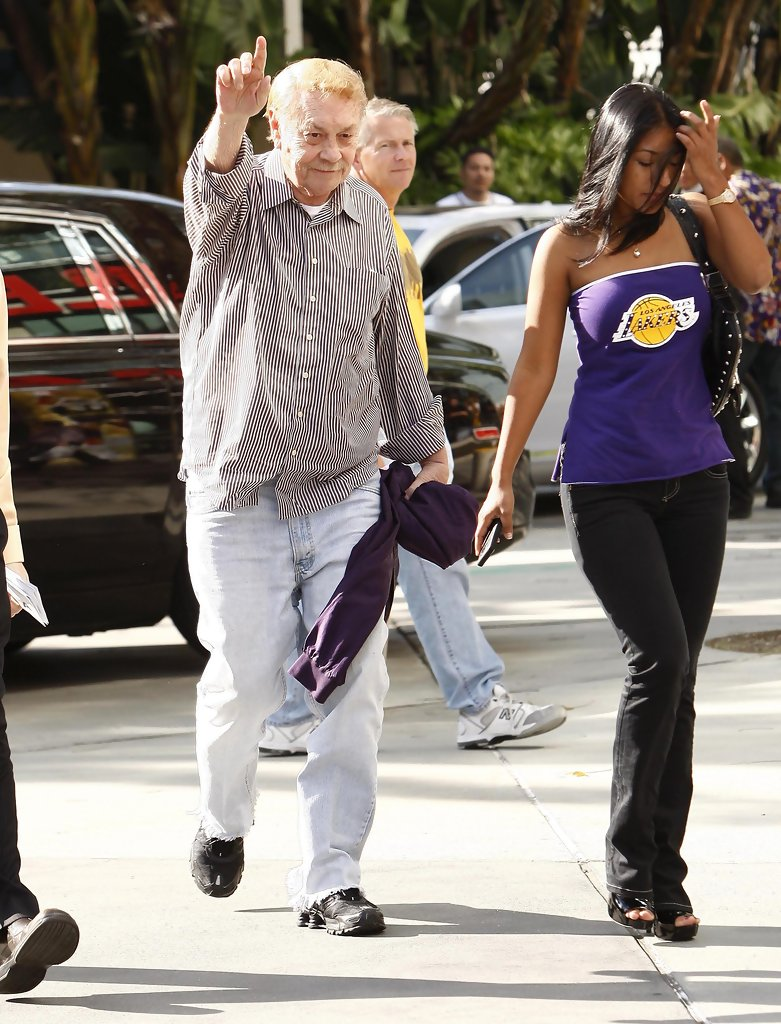 Jerry Buss 2010 Pictures Photos Images Zimbio