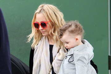 Nicole Richie Sparrow Madden Celebrities Arriving For Nicole Richie's Daughter Harlow's Birthday Party