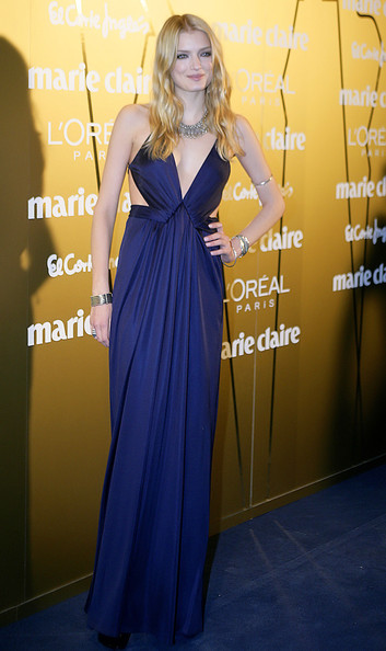 Celebrities attend the 2009 Marie Claire Prix de la Moda awards at the French Embassy in Madrid, Spain.