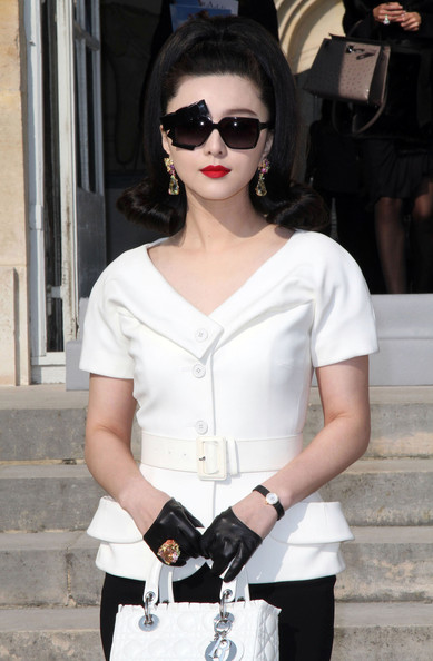 Celebrities At The Dior Fashion Show In Paris 2