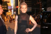 Taylor Schilling At The 'Late Show With Stephen Colbert'