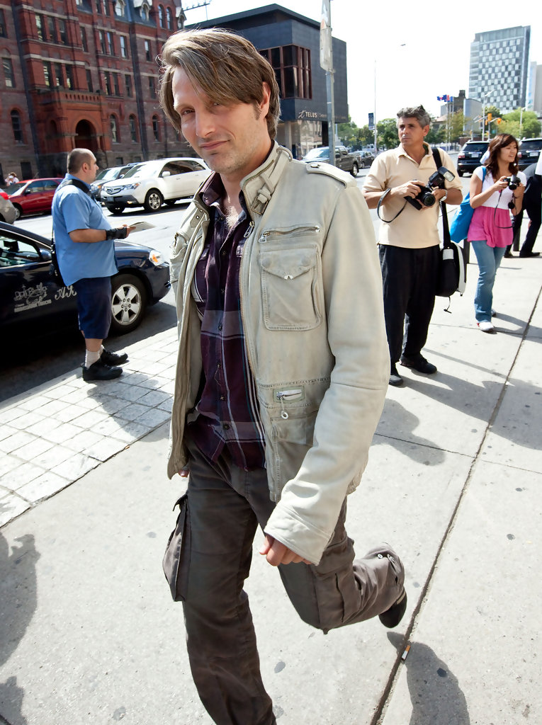 Mads Mikkelsen In Celebrities Spotted At 2009 Toronto Film