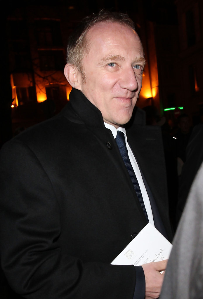 francois henri pinault in celebrities at the yves saint. Black Bedroom Furniture Sets. Home Design Ideas