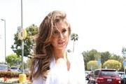Celebrities at Universal Studios to do an interview for the show EXTRA in Universal City, California on April 23, 2014.<br /> Pictured: Katherine Webb
