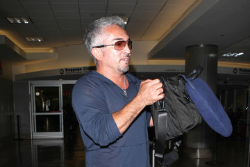 Cesar Millan Cesar Millan Touches Down at LAX