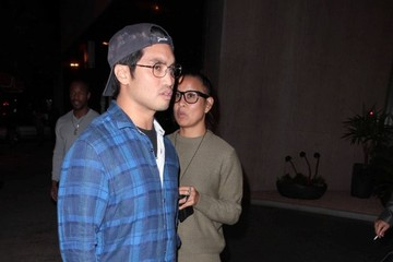 Chad Hugo Celebs Enjoy a Night Out at Bootsy Bellows