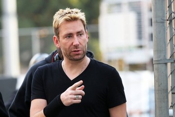 Chad Kroeger Nickleback Performing Live On 'Jimmy Kimmel Live!'