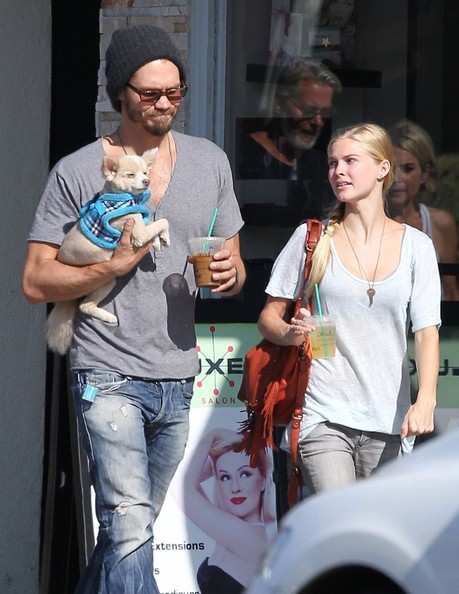 Chad Michael Murray Takes His Pup to a Canine Playroom