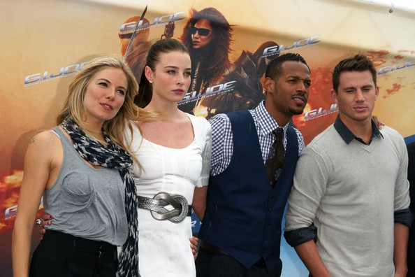 'G.I. Joe' Photocall In Berlin
