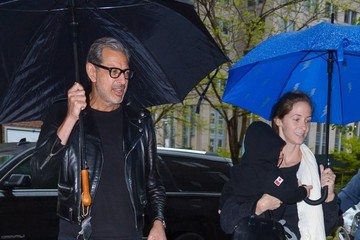 Charlie Goldblum Jeff Goldblum and Emilie Livingston Go Out With Their Son in NYC