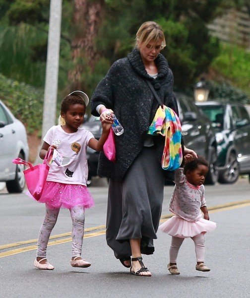 Charlize Theron and Au... Charlize Theron Children