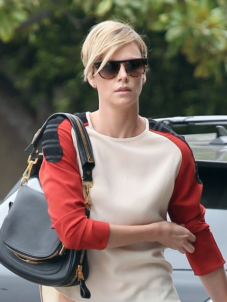 Charlize Theron - Charlize Theron Spends the Day with Her Son