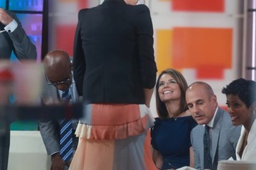 Charlize Theron Celebrities Visit the 'Today' Show