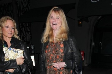 Cheryl Tiegs Celebrities Enjoy Dinner At Craig's Restaurant