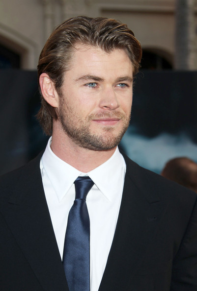 "Chris Hemsworth Celebrities attend the ""Thor"" Los Angeles premiere at the El Capitan Theatre in Hollywood."