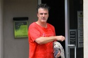 Chris Noth Leaves a Yoga Studio