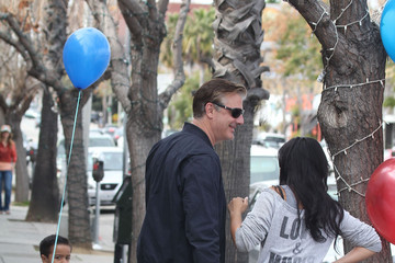 Orion Noth Chris Noth Takes His Son To Get A Haircut
