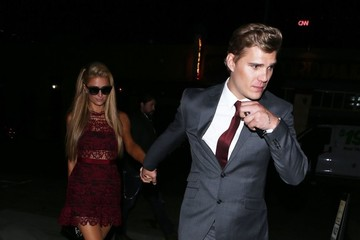 Chris Zylka Celebrities Enjoy A Night Out At Tao