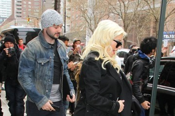 Christina Aguilera Christina Aguilera and Matthew Rutler Check Out
