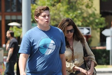Christopher Schwarzenegger Maria Shriver Takes Her Son To Lunch