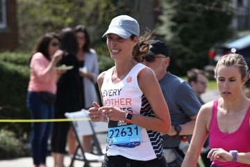 Christy Turlington Christy Turlington Runs in the 120th Boston Marathon