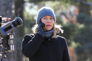 Claire Danes Stars On The Set Of 'Homeland'